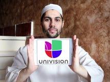 Univision tv-nätetlogo Arkivfoton