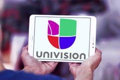 Univision tv-nätetlogo Fotografering för Bildbyråer