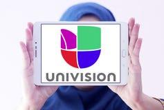 Univision tv-nätetlogo Royaltyfria Bilder