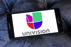 Univision tv-nätetlogo Royaltyfri Fotografi