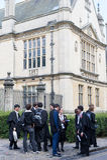 uniwersyteccy Oxford ucznie Zdjęcie Stock