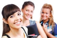 uniwersyteccy szczęśliwi ucznie Obraz Stock