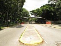 Uniwersytecka centrala Wenezuela UCV główna brama Caracas Wenezuela zdjęcia royalty free