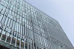 Uniwersytecki budynek z ogromnymi okno w Montreal Obrazy Royalty Free