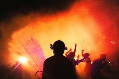 Uniwersytecki impreza rave przyjęcie obrazy royalty free