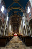 Uniwersytecki Kościelny saint louis w Monachium Zdjęcie Stock