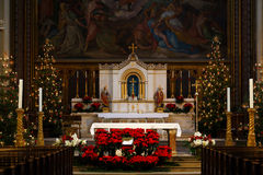 Uniwersytecki Kościelny saint louis w Monachium Zdjęcie Royalty Free