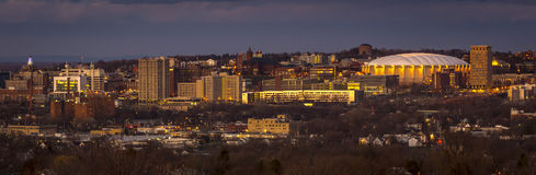 Uniwersytecki wzgórze Syracuse Nowy Jork Fotografia Stock