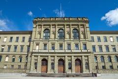 uniwersytecki Zurich zdjęcie royalty free
