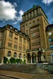 Uniwersytecki Zurich HDR obraz royalty free