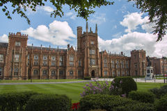uniwersyteckie Belfast królowe Obraz Royalty Free