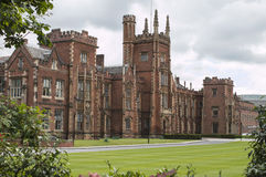 uniwersyteckie Belfast królowe Obrazy Stock