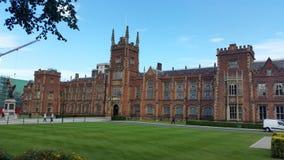 uniwersyteckie Belfast królowe Zdjęcia Stock