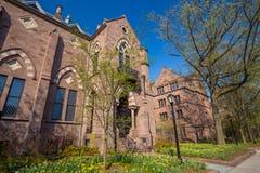 Uniwersytetów Yale budynki Zdjęcia Stock