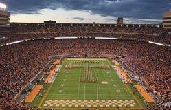 Uniwersytet Alabama przypływu gry Ciemnopąsowy dzień Obrazy Stock