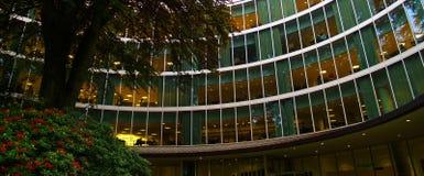 uniwersytet biblioteczna. Obrazy Stock