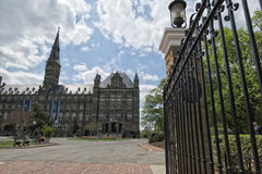 Uniwersytet Georgetown w washington dc obrazy royalty free