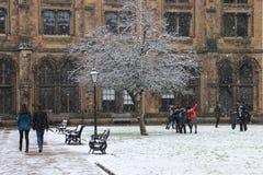 Uniwersytet Glasgow Fotografia Royalty Free