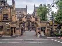 Uniwersytet Glasgow Zdjęcia Royalty Free