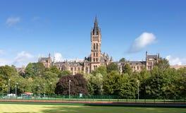 Uniwersytet Glasgow budynek, Szkocja, UK Zdjęcia Stock