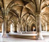 Uniwersytet Glasgow Cloisters Zdjęcie Royalty Free