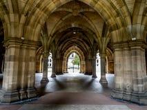 Uniwersytet Glasgow Cloisters Zdjęcie Stock