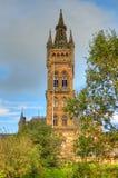 Uniwersytet Glasgow Główny budynek - Szkocja Zdjęcie Stock