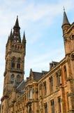 Uniwersytet Glasgow Główny budynek - Szkocja Fotografia Stock