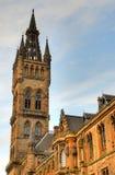 Uniwersytet Glasgow Główny budynek - Szkocja Obraz Royalty Free