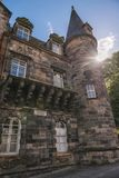 Uniwersytet Glasgow, Szkocja, UK Obraz Stock