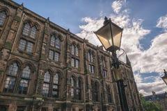 Uniwersytet Glasgow, Szkocja, UK Obraz Royalty Free