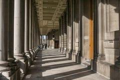Uniwersytet Greenwich - starzy budynki instytucja zdjęcia stock