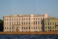 Uniwersytet kultura i sztuki w St Petersburg Zdjęcia Stock