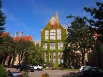 Uniwersytet Machester, Anglia Obrazy Royalty Free
