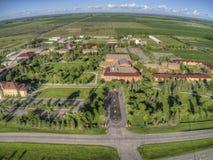 Uniwersytet Minnestoa Crookston kampus w północnym zachodzie Minnestoa obrazy royalty free