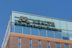 Uniwersytet Minnestoa kliniki i operaci centrum obraz royalty free