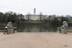 Uniwersytet Nottingham zdjęcie royalty free