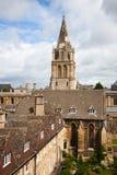 Uniwersytet Oksford katedra Obrazy Stock