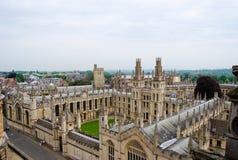 Uniwersytet Oxford Obrazy Royalty Free