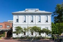 Uniwersytet Południowo-Kalifornijski Widney wychowanków dom obraz royalty free