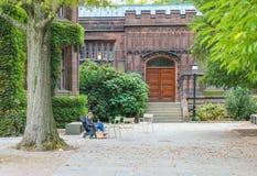 Uniwersytet Princeton jest Intymnym bluszcza liga uniwersytetem w Nowym - bydło, usa Zdjęcia Stock