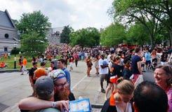 Uniwersytet Princeton 2015 P-rade obrazy stock