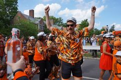 Uniwersytet Princeton 2015 P-rade zdjęcia royalty free