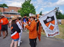 Uniwersytet Princeton 2015 P-rade zdjęcia stock
