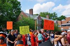 Uniwersytet Princeton 2015 P-rade fotografia royalty free