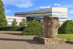 Uniwersytet Uppsala, Szwecja fotografia royalty free