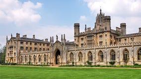 uniwersytet w cambridge Zdjęcie Stock