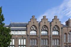 Uniwersytet w Leiden holandie zdjęcie stock