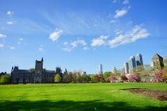 Uniwersytet W Toronto budynek Zdjęcia Stock