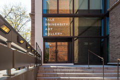 Uniwersytet Yale galeria sztuki Obrazy Royalty Free